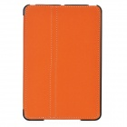 Ultra-Thin Protective PU Leather Flip-Open Case w/ Smart Cover for iPad Mini - Orange