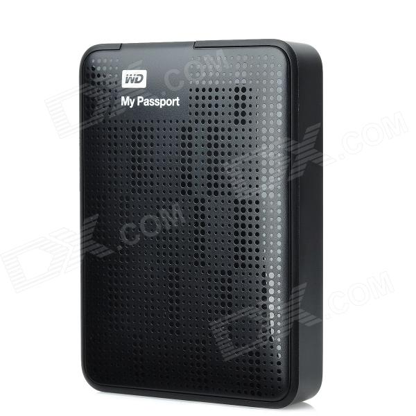 Western Digital My Passport 2.5 USB 3.0 Portable External HDD - Black (2TB) my passport
