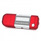 "1.2"" LCD Multi-Function MP3 Player w/ FM, Recorder - Red (4GB / 1*AAA)"