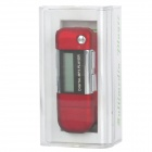 "1.2"" LCD Multi-Function MP3 Player w/ FM / Recorder - Red (4GB / 1 x AAA)"