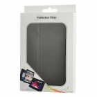 Ultra-Thin Protective PU Leather Flip-Open Case for Ipad MINI - Black