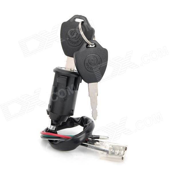 CYT Motorcycle Electrical Lock for Honda CG125 - Black