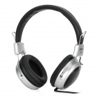 Senmai SM-H0350M.V Adjustable Headphones / Microphone - Black + Silver