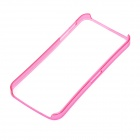 Ultra-Thin Protective ABS Bumper Frame for Iphone 5 - Deep Pink