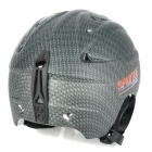 Moon MS-86 Carbon Fiber Pattern Outdoor Skiing Helmet for Adults