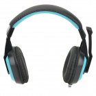 Cosonic CT-770 Stereo Gaming Headphones w/ Microphone - Blue + Black
