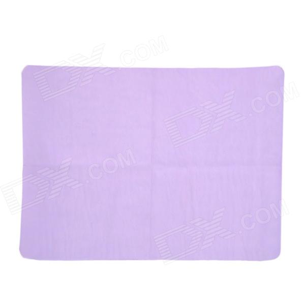 FF051 PVA Chamois Car / House Cleaning Towel Cloth - Purple