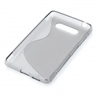 Protective Silicone Back Case Cover for Nokia Lumia820 - Grey
