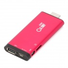 iMito MX1 Dual-Core Android 4.1 Google TV Player w/ Bluetooth / Wi-Fi / 1GB RAM / 8GB ROM - Red