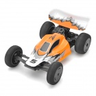 Wiederaufladbare 2-CH 2.4GHz Radio Control R / C F1 Racing Car - Orange + Black + White