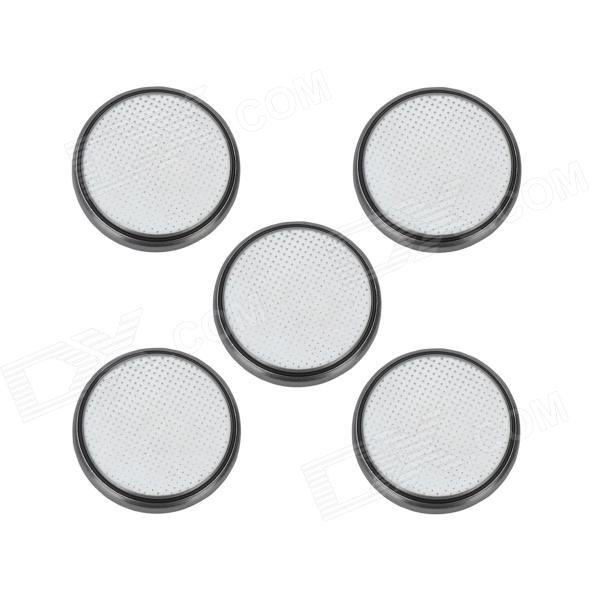 GD-LI-5 CR2032 3V 210mAh Lithium Button Battery - Silver (5 PCS) goop cr2025 3v lithium cell button batteries 5 x 10 pcs