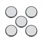GD-LI-5 CR2032 3V 210mAh Lithium Button Battery - Silver (5 PCS)