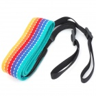 CAM-in Rainbow Runway Pattern Neck / Shoulder Strap for DSLR Camera - Yellow + Red + Blue