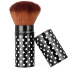Cafula Professional Loose Powder / Blush Brush - Black + Pink