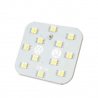 DianZi DZ-12W T10 2.4W 276lm 12-SMD 5050 LED White Light Car Reading Lamp (12V)