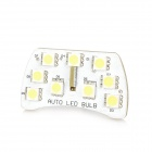 DianZi T10 2W 207lm 9-SMD 5050 LED White Light Car Reading Lamp (12V)