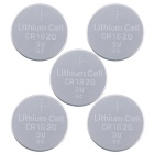 GD-LI-2 CR1620 3V 70mAh Lithium Button Battery - Silver (5 PCS)