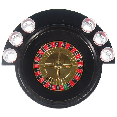 Lucky Shot Drinking Roulette Game (6-Cup Set)