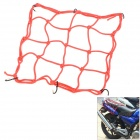 Elastic Baggage Band Helmet Net Holder for Motorcycle - Red