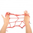 Elastic Band equipaje Casco Holder Net para la motocicleta - Red