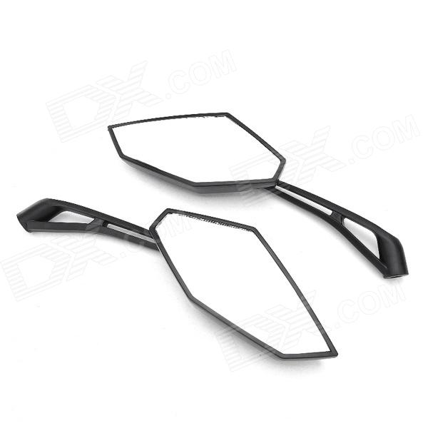 DIY Motorcycle Back Rearview Mirrors for Harley M10 - Black (2 PCS)