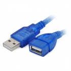 USB 2.0 Female to Male Extender Cable - Blue (1.4m)