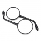 Motorcycle Anti-Glare Back Rearview Mirrors for Honda CB400 / CB750 / CB1300 / X-11 - Black (2 PCS)
