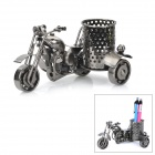 M46 Motorcycle Style Metal Pen Case / Display Model - Dark Grey