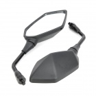 DIY Motorcycle Anti-Glare Back Rearview Mirrors for Kawasaki Z1000 / Z750 / ER6N - Black (2 PCS)