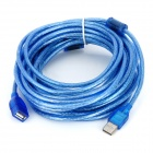 USB 2.0 Male to USB Female Extension Cable - Blue (10M)