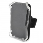 D2988 Multi-Purpose Bicycle Mobile Phone Bag w/ Holder Mount / Arm Band - Black (Size L)