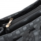 Multi-Purpose PU Leather One Shoulder / Satchel / Hand bag for Women - Black