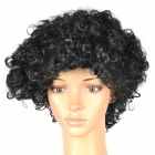 Stylish Explosion Head Short Curly Hair Wig for Costume Party / Halloween - Black