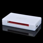 D12090023 All-in-1 Hi-Speed USB 2.0 Card Reader - Black + White