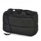 Protective Soft Inner Padded Bag for Canon / Nikon / Sony DSLRs - Black