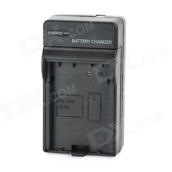 LP-E8 Battery Charging Cradle for Canon LP-E8 (100~240V / 2-Flat-Pin Plug)