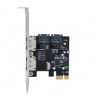 6.0Gbps eSATA / SATA 3.0 to PCI-E Express Card Adapter - Black + Silver