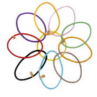 10 Colored Hair Bands (Color Assorted)