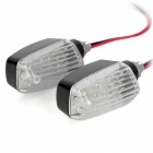 1.96W 98lm 14-LED White Light Motorcycle Signal Lamp (12V / 2 PCS)