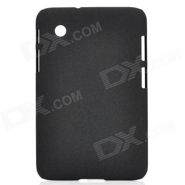 Protective Frosted PC Back Case for Samsung Galaxy Tab P3100 - Black