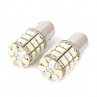 1157 5.4W OSRAM 60-1210 SMD LED Yellow + White Light Car Brake / Daytime Running Light (12V / 2 PCS)