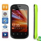 "S720C Android 2.3 GSM Bar Phone w/ 3.5"" Capacitive Screen, Quad-Band, Wi-Fi and Dual-SIM - Green"