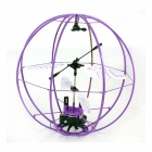 SH6041 3-CH Outer Space Flying Ball w/ Gyro - Purple