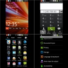 "S720C Android 2.3 GSM Bar Phone w/ 3.5"" Capacitive Screen, Quad-Band, Wi-Fi and Dual-SIM - Black"