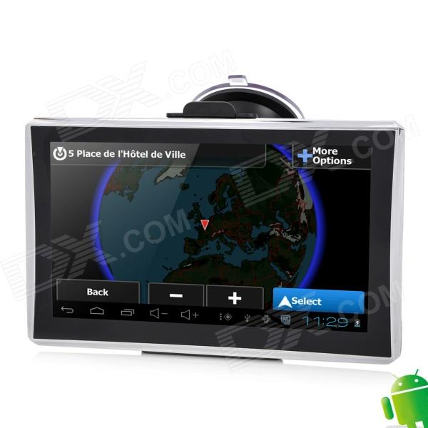 "M7007AV 7"" Resistive Screen Android 4.0 GPS Navigator w/ Europe Map / Wi-Fi / AV-IN"