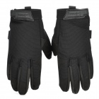 Free Soldier 008 Anti-Slip Full-Finger Gloves - Black (Pair)