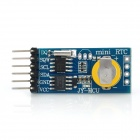 JY-MCU DS1307 Real Time Clock Module w / Battery - Blau