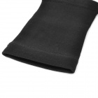 Flexible Arm-Thinning Warmer Bands Set - Black (Pair)
