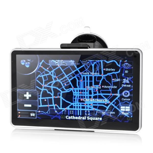 ST-7011 7 Resistive Screen Win CE 6.0 GPS Navigator with Europe Map - Black + Silver корпус in win pe689bl 600w black