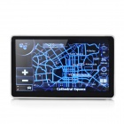 "ST-7011 7"" Resistive Screen Win CE 6.0 GPS Navigator with Europe Map - Black + Silver"